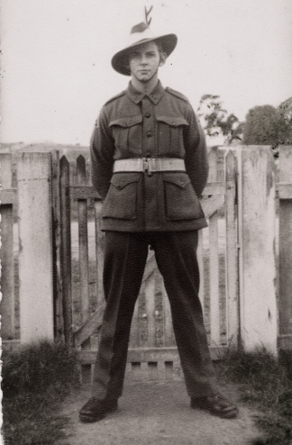 Victor Sinclair Fittock (Peter) was killed in New Guinea, 2nd May, 1945 and is buried in Wewak War Cemetery (J.B.16).Beryl corresponded with Victor (Peter) Fittock during the war and was saddened to receive a letter from Peter not long after word came through that he had been killed.