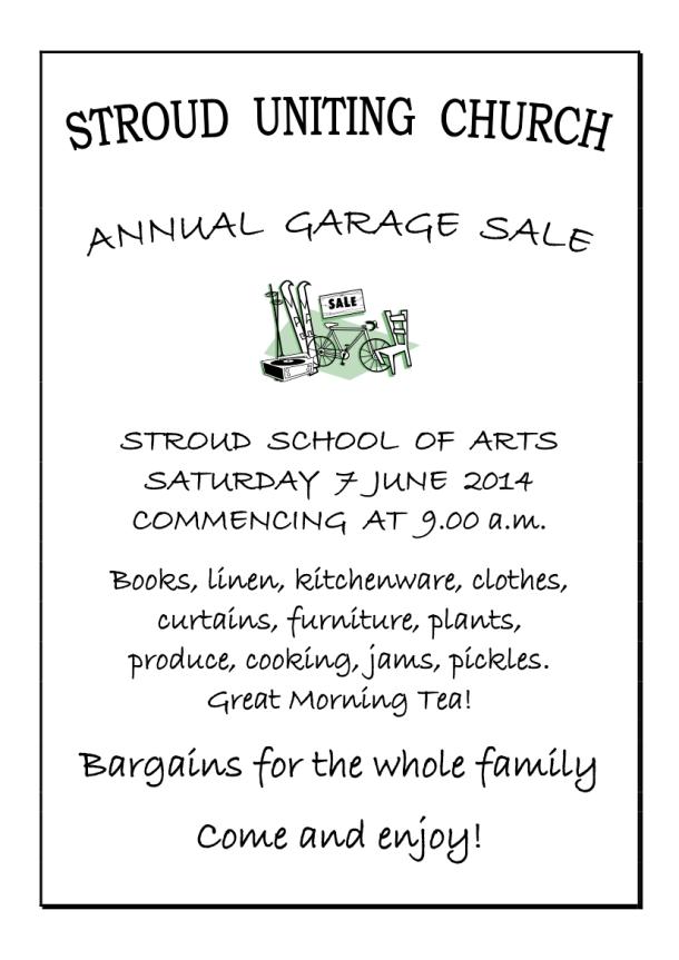 Garage Sale Poster 14