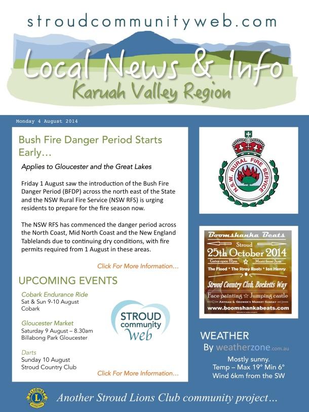News 4 Aug 2014