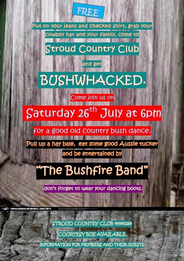 stroud country club-Bush Dance