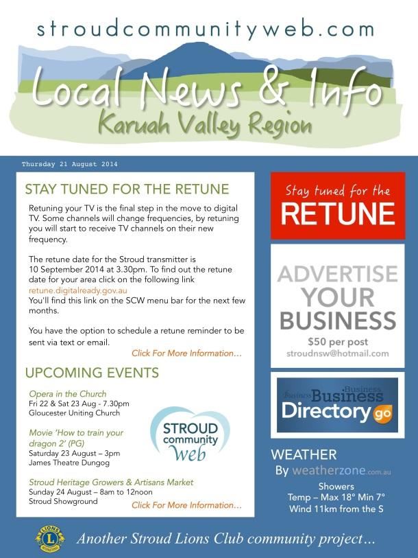 News 21 Aug