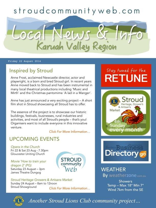 News 22 Aug