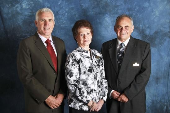 Mayor, Deputy Mayor and GM