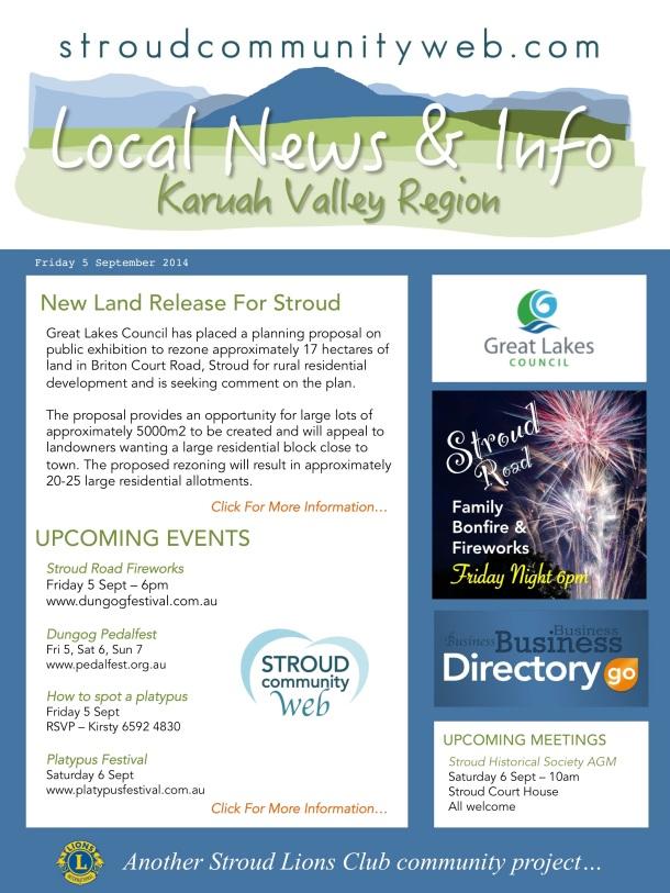 News 5 Sept