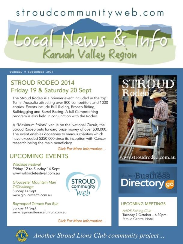 News 9 Sept