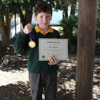 Ben Lathwell- Junior winner medal (email)