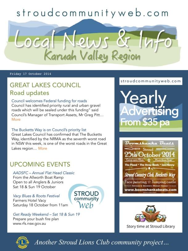 News 17 Oct