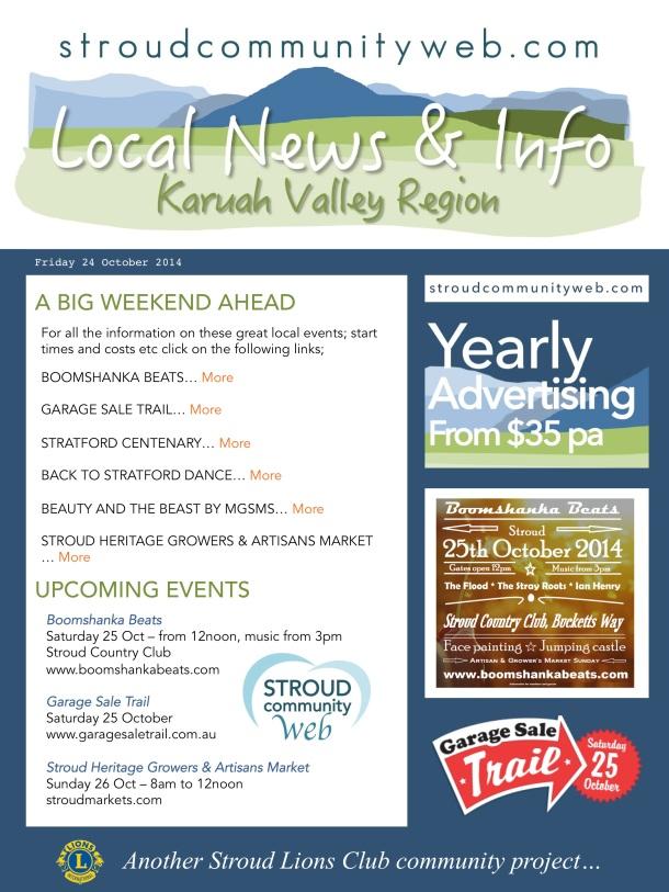 News 24 Oct
