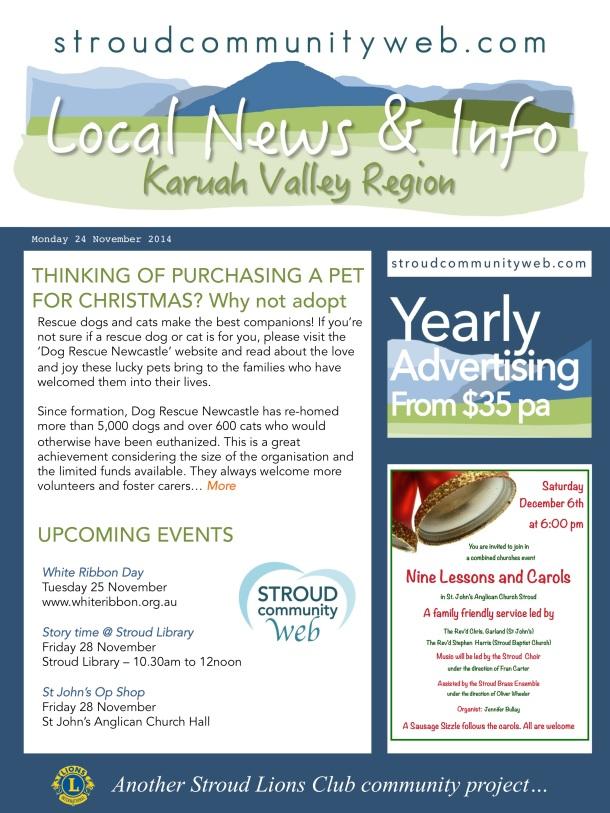 News 24 Nov