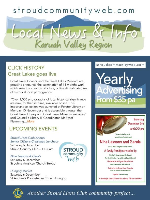 News 4 Dec