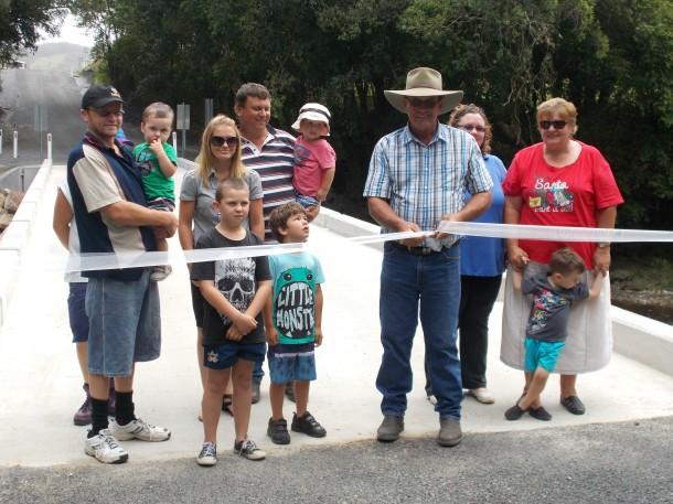 Gortons Bridge opening