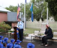 Commemorative address by Squadron Leader Richard Rundle from Williamtown RAAF