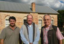 Rodney Gorton, John Chadban and Kevin Bailey from Casino Probus Club