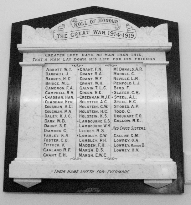 roll-of-honour