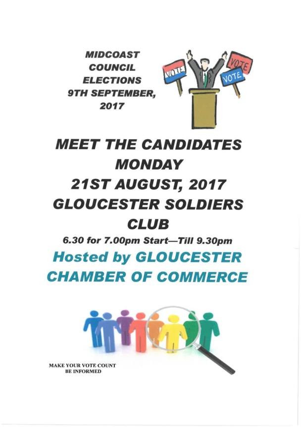 Meet the candidates 21Aug17